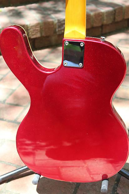 Three Tone Sunburst MI-5 Guitar | musicvox instruments