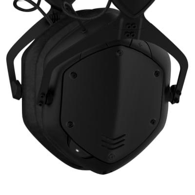 V-MODA Crossfade 2 Wireless BT Over-Ear Headphones - Matte Black - Open Box