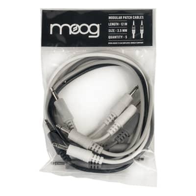 """Moog 12"""" Patch Cables (5)"""