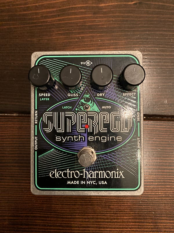 Electro Harmonix Superego : electro harmonix superego synth engine pedal broker reverb ~ Russianpoet.info Haus und Dekorationen