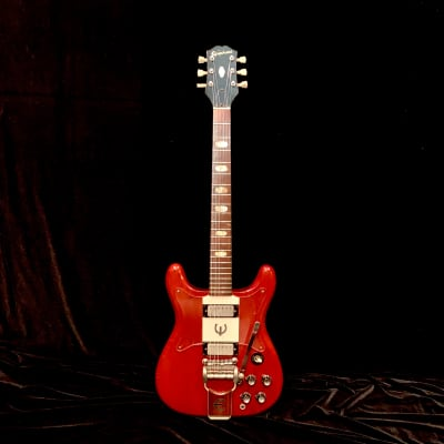 1962 Epiphone Crestwood Custom Cherry SN# 59813, From Lenny Kravitz's Personal Collection for sale