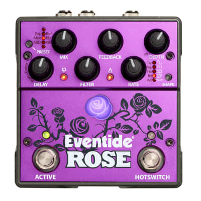 Eventide Rose Modulated Guitar Delay Pedal