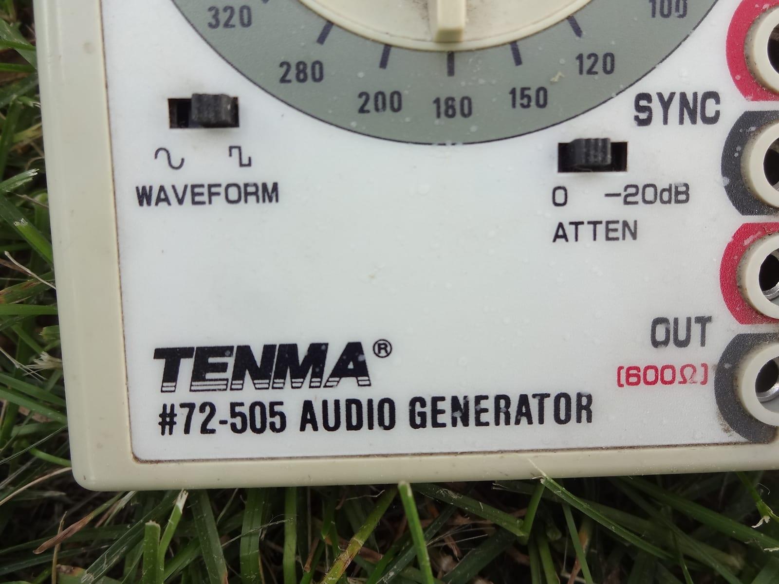 Tenma 72-505 sine square wave hand held audio generator great for tube  guitar amp repair bench test