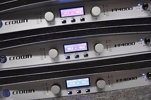 crown itech 4000 professional power amplifier w original reverb. Black Bedroom Furniture Sets. Home Design Ideas