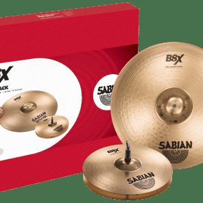 "Sabian B8X 13/16"" First Pack Cymbal Pack"