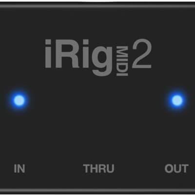 IK Multimedia iRig MIDI 2 MIDI Interface for iOS Mac Devices