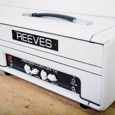 Reeves Custom 12 USA made tube amp head Excellent condition-amplifier for sale