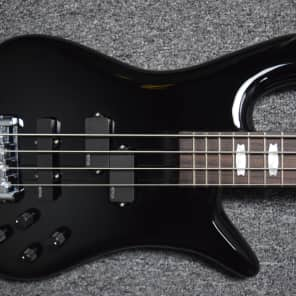Spector Euro 4LX Solid Black Gloss / Chrome Hdwr. Gig Bag, Included *NOT Pre-Owned for sale