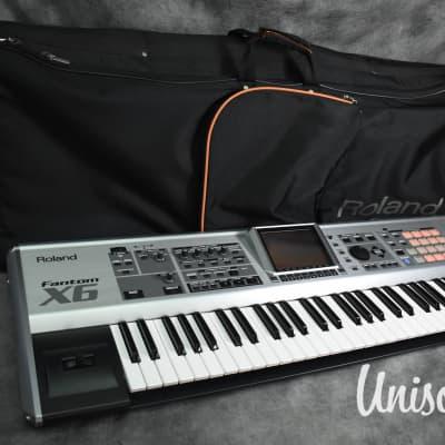 Roland Fantom X6 Synthesizer Workstation Keyboard [Very Good]