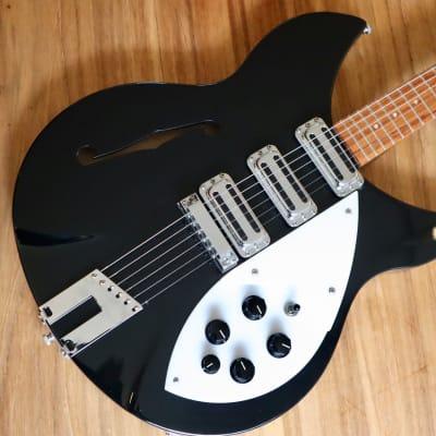Rickenbacker 345 Rose Morris 1998 1965 - 1969 Black for sale