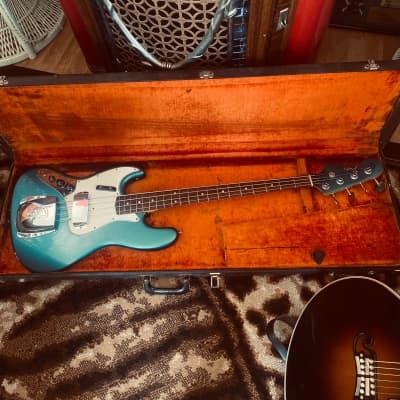 Fender left hand  Jazz Bass 1965 Lake Placid Blue