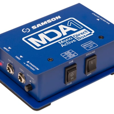 Samson MDA1 S-Max Series Mono Active Direct Box