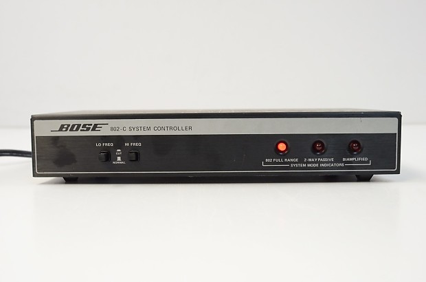bose 802 controller hook up Bose 802-c ii system controller for 802 loudspeakers this is a beautiful bose 802-c ii system controller in great condition it has been very well taken care of and was occasionally used indofrom.