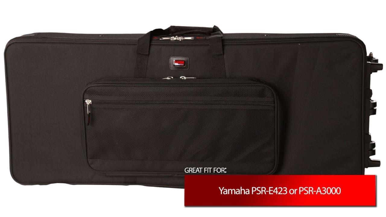 Gator cases keyboard case for yamaha psr e423 psr a3000 for Yamaha a3000 keyboard