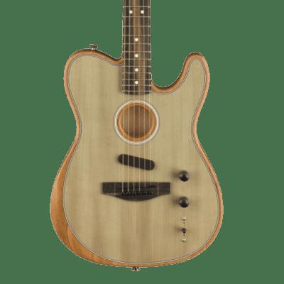 (7/19 Avail) Fender  Acoustasonic Telecaster Sonic Grey for sale