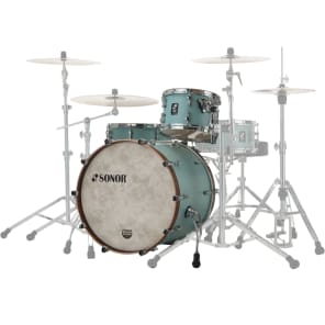 "Sonor SQ1 Series 3-Piece Birch Shell Pack with 22"" Bass Drum"
