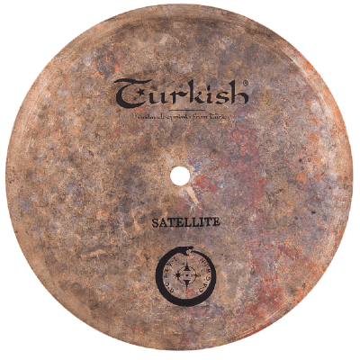 "Turkish Cymbals Jarrod Cagwin Soundscape Series  11"" Satellite Bell * Flat Bell *  ST-BL11"