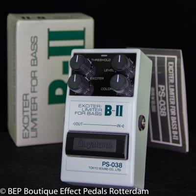 Guyatone PS-038 B-II Exciter/Limiter for Bass mid 80's Japan