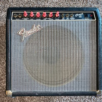 Vintage Fender Champ tube  Guitar Combo amp with  reverb for sale