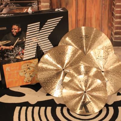 Zildjian K Custom Dark Cymbal Pack (14HH-16C-18C-20R) - Demo!