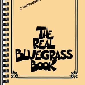 Hal Leonard The Real Bluegrass Book