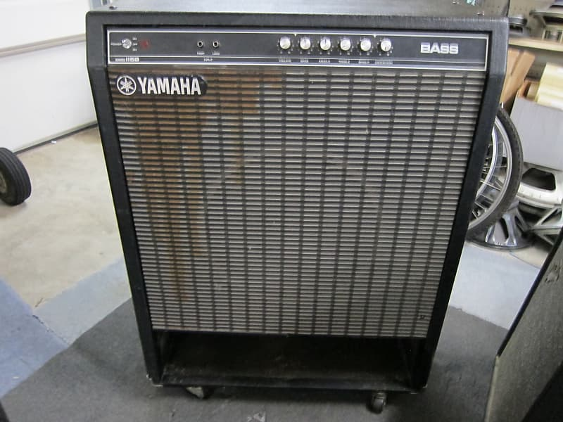 yamaha b100 115 bass amp slot loaded 15 cabinet reverb. Black Bedroom Furniture Sets. Home Design Ideas
