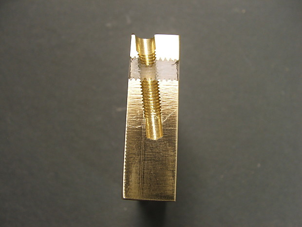kgc killer brass tremolo block for fender strat reverb