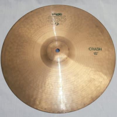"Paiste 16"" 505 ""Green Label"" Crash Cymbal"
