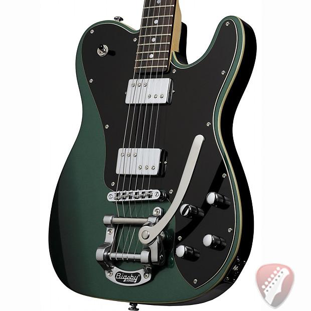 schecter pt fastback ii b electric guitar in dark emerald reverb. Black Bedroom Furniture Sets. Home Design Ideas