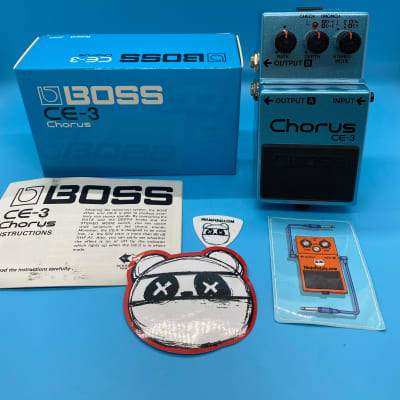 Boss CE-3 Chorus w/Original Box | Rare 1980s (Made in Japan) | Fast Shipping!