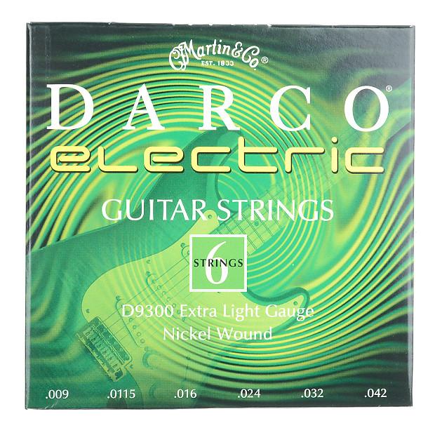 Martin Darco Electric Strings Extra Light 9 42 Reverb