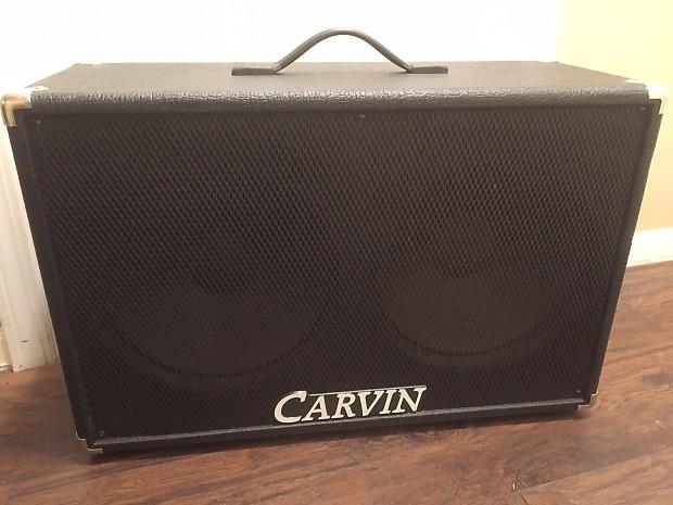 carvin 212v 2x12 cabinet british series | reverb