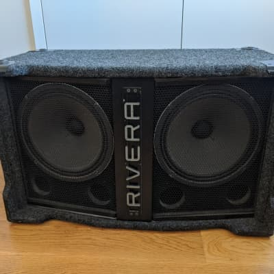 Rivera Q212 Q-Cab Ported Stereo 2x12 Cabinet Vertical or Horizontal for sale