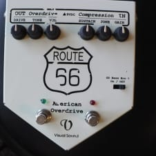 Visual Sound Route 66 Overdrive & Compressor