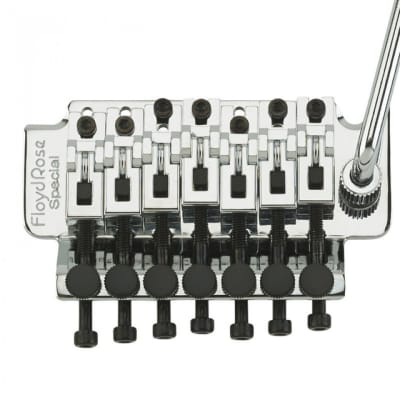 FLOYD ROSE SPECIAL SERIES 7 STG TREMOLO - CHROME for sale