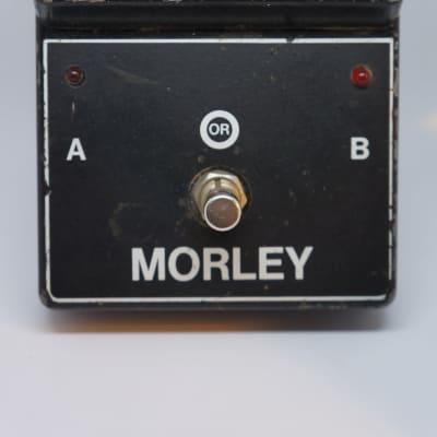 Morley MOD ABY Switcher (two ins/one out) Early 1980's