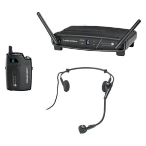 Audio-Technica ATW-1101/H System 10 Digital Wireless Headset Microphone System