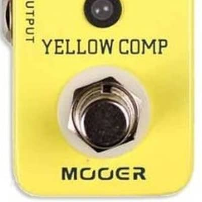 Mooer Yellow Comp Optical Compressor Pedal MCS2 for sale