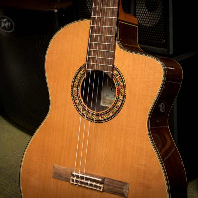 Takamine TC132SC- Classical with cutaway, CTP-3 Cool Tube electronics w/case[Display Model]