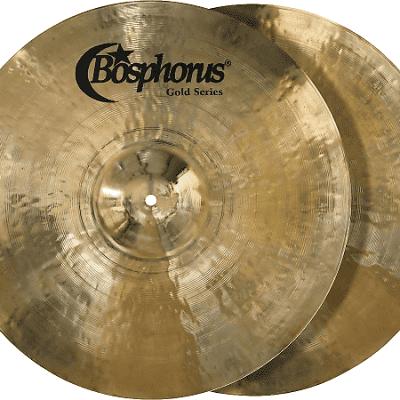 """Bosphorus 16"""" Gold Series Hi-Hat Cymbals (Pair)"""