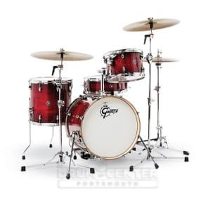 Gretsch Catalina Club Drum Set : 3pc With 18 Bass Drum - Gloss Crimson Burst