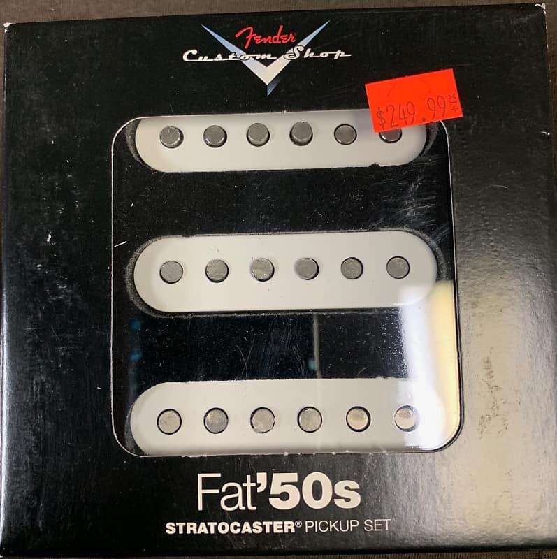Fender Custom Shop Fat '50s Stratocaster Pickups | Reverb