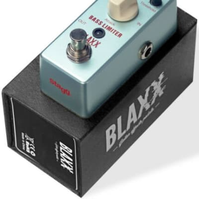 Stagg Blaxx Bass Limiter FX Pedal BX-BASS LIMIT for sale