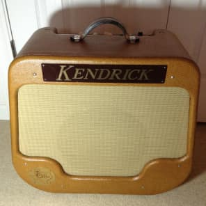 Kendrick model 2112 Texas Crude Amplifier 1995 Lacquered Tweed for sale