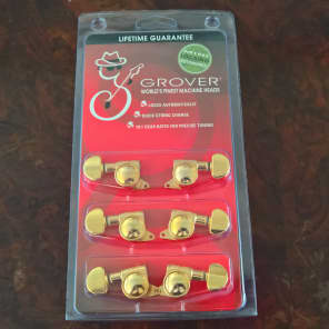 Grover 505G Rotomatic Roto-Grip Locking Tuners (3x3)