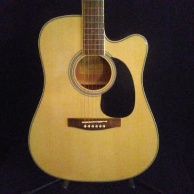 Indiana I-TB2N Natural Thin Body Acoustic/Electric for sale