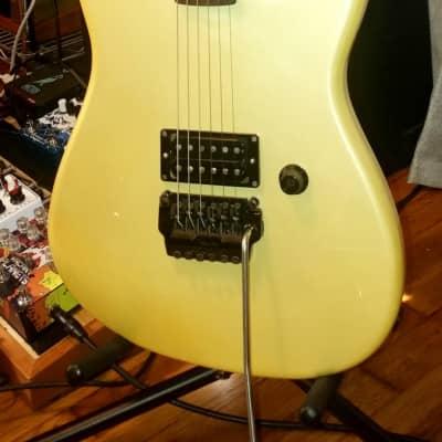 Fender Contemporary Stratocaster 1986 Champagne / Pearl White MIJ Japan for sale