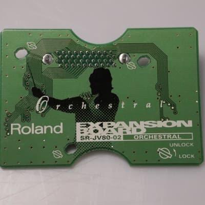 Roland SR-JV80-02 Orchestral Expansion Board Sound Card SRJV8002 #36997