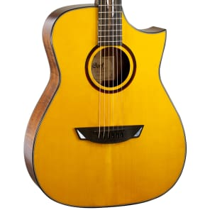 Cort LUXE NAT Frank Gambale Series Adirondack Spruce/Blackwood Concert Cutaway with Electronics Natural Glossy