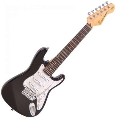 Encore E375BLK 3/4 Size Electric Guitar